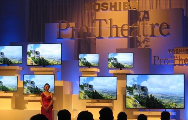 Dòng tivi Toshiba mới có nhiều kích thước để khách hàng lựa chọn