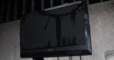 Tivi bị cháy