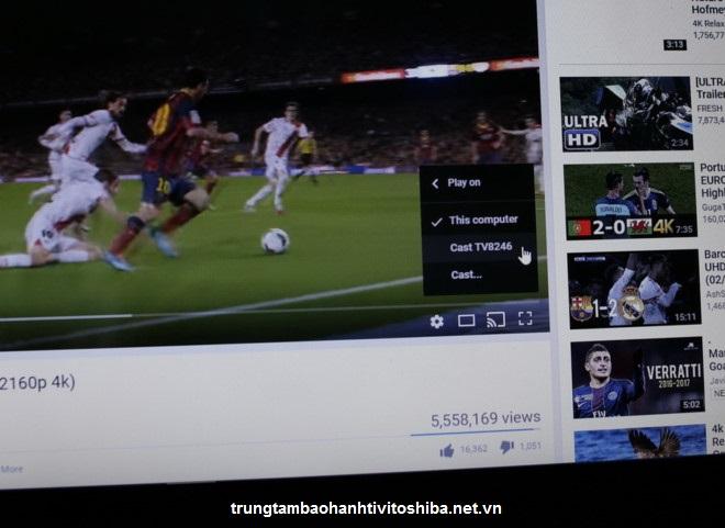 Tivi Toshiba U67 chất lượng 4K giá từ 11 triệu